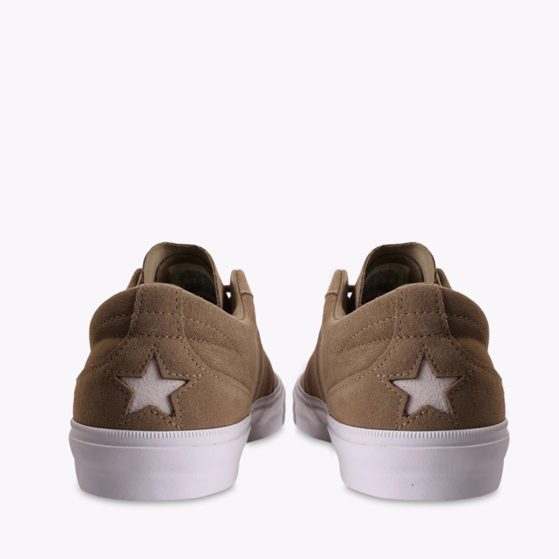 ... Converse One Star CC Ox Men's Sneakers Shoes - Khaki ...