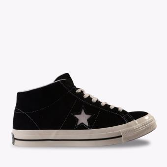 Converse One Star Mid Suede Men's Sneakers Shoes - Hitam ...