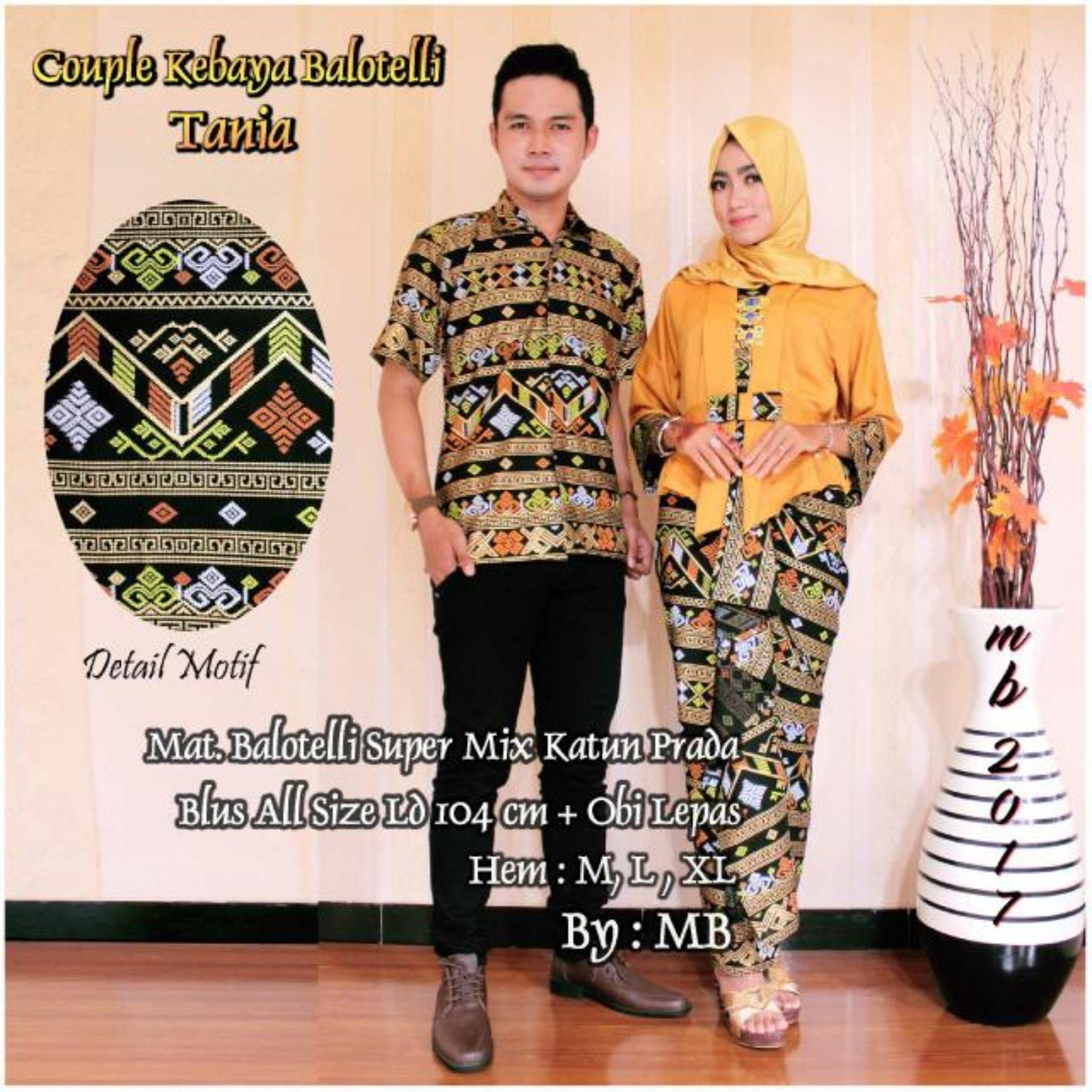 Harga Penawaran Couple Kebaya Balotelli Tania Kuning Baru Solo My Dress Prada Biru Cheap Online