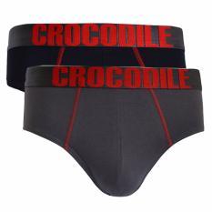 Crocodile Underwear 521-277 Brief - 2 pcs - Multicolor  - Celana Dalam Pria