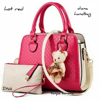 Cross Body & Shoulders Bags / Sling Bag / Tas Selempang DianaHandbags (Red)