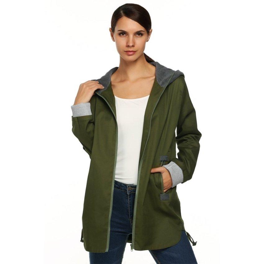 LOOESN Korea Fashion Style baru merajut ritsleting cardigan kecil jas ayat pendek sweater Pertempuran cyan.