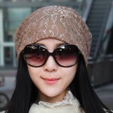 Dalam Ruang Korea Fashion Style Perempuan Musim Gugur Dan Dingin Renda Sarung Bantal Topi Topi (