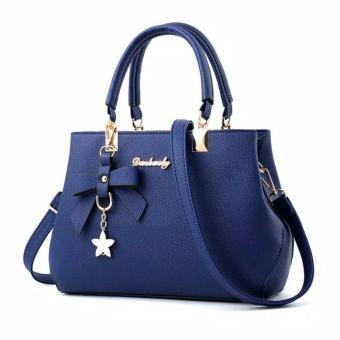 Danbaoly Elegant & Romance Handbag - Navy Blue