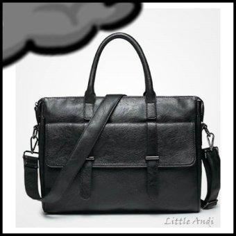 dantens tonda tas kerja pria men s office bag black yk137