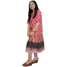 Daster Batik, Daster Lengan Pendek, Baju Tidur, Piyama, Kancing, Daster Bumil, Daster Busui (DPT001-53)