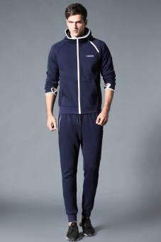 REVIEW Di luar ruangan di musim semi dan musim gugur baru pria olahraga jas (Biru jas-tidak menentukan default rambut bundel kaki celana) MURAH