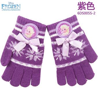 harga Disney hangat musim dingin untuk anak perempuan wol sarung tangan sarung tangan anak sarung tangan sarung tangan (Sarung tangan sarung tangan 6DS005S-2 ungu untuk mengirim XY alat tulis) Lazada.co.id