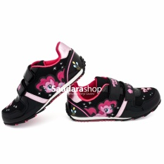 Disney LITTLE PONY / Sepatu Anak Little Pony [26-35] Hitam Pink / Sepatu Anak TK