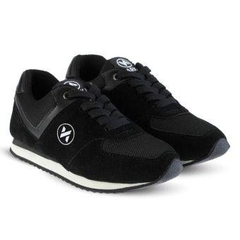 Gambar Distro Bandung VR 426 Sepatu Sneakers Kets dan Kasual Anak bisauntuk  olahraga sekolah Jalan Hitam b9dfff7f3d