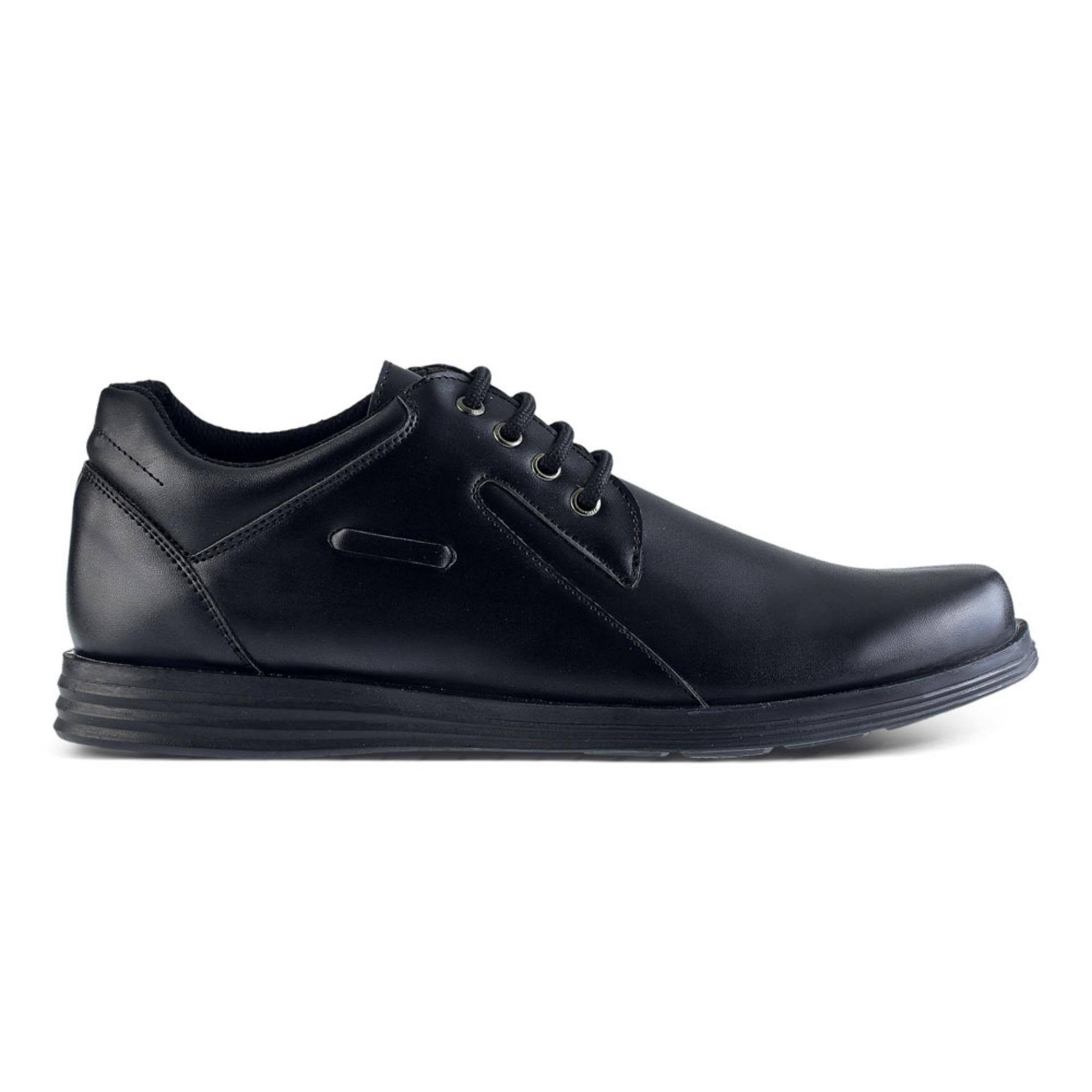 Distro DS 446 Sepatu Formal Pantofel Pria Untuk Kerja dan Kantor Kulit  Sintetis . 09aa4d166b