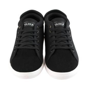 Distro VDB 458 Sepatu Sneaker kets dan Kasual Pria utk santai,jalan, kuliah, kerja, sekolah - Hitam - 2