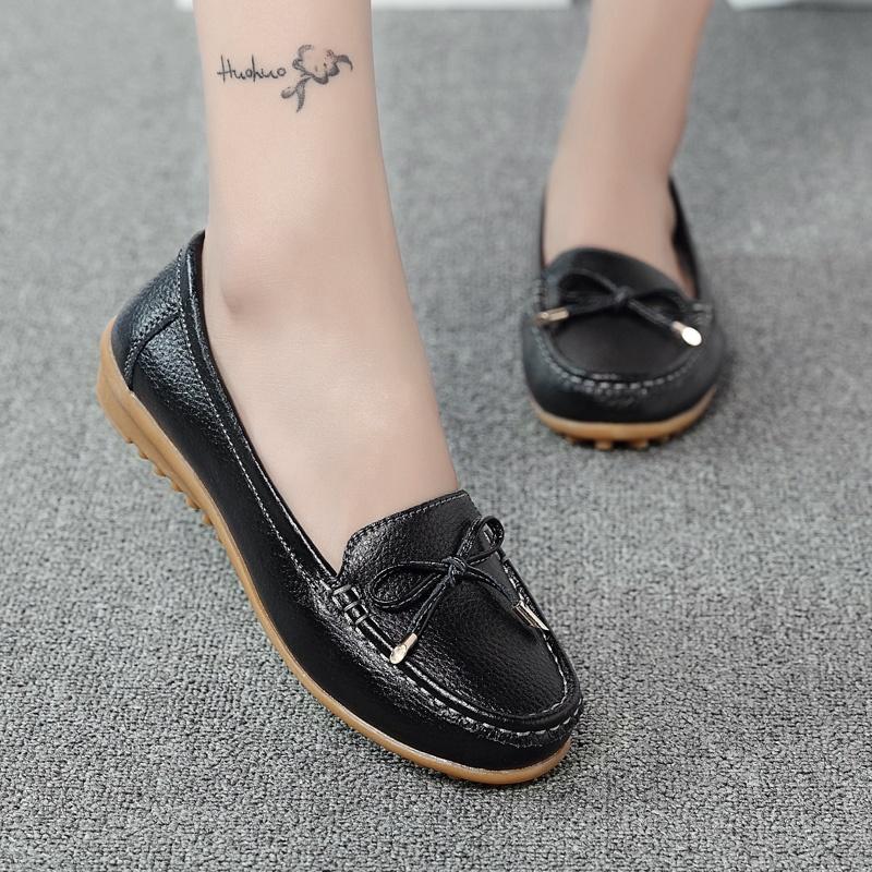 ... Musim Gugur Flat Shoes Sepatu Peas Sepatu 6915 merah muda Source Ditambah beludru sepatu
