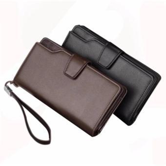 Dompet Fashion Pria Zipper 2 Lipat Mewah Elegant Limited Edition G1 - Brown    Cokelat 4ffcafacb8