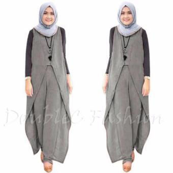DoubleC Fashion Jumpsuit Kayla Grey
