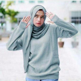 DoubleC Fashion Roundhand sweater grey