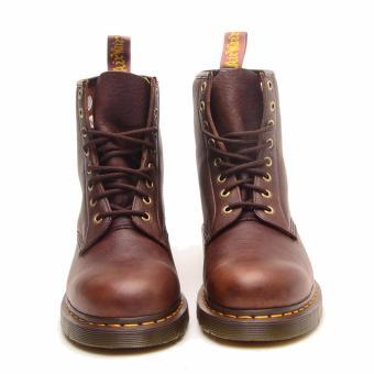 Jual Dr. Martens 1460 8 Eye Boot Sepatu Pria Coklat Tua online murah berkualitas.
