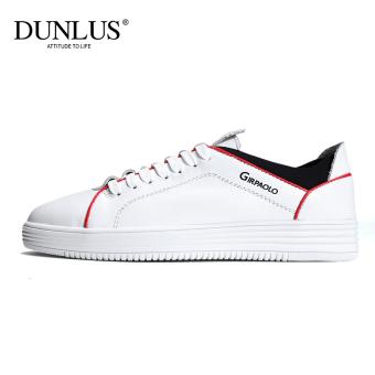 0df6e8b37 Harga DUNLUS Korea Fashion Style musim gugur baru sepatu sepatu pria  (Putih) Murah