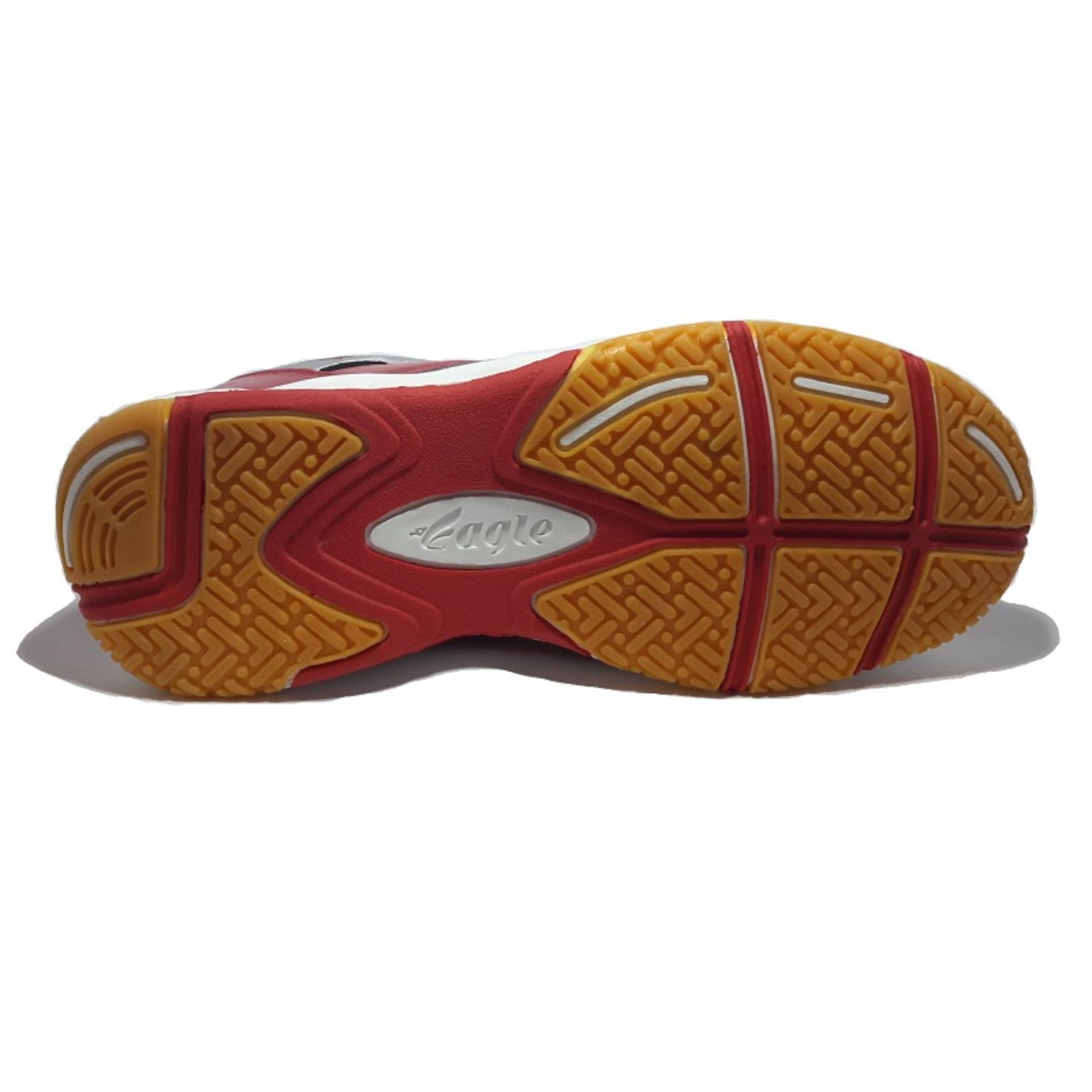 Harga Saya Eagle Sparrow Sepatu Badminton Abu Merah Online Murah Eclipse