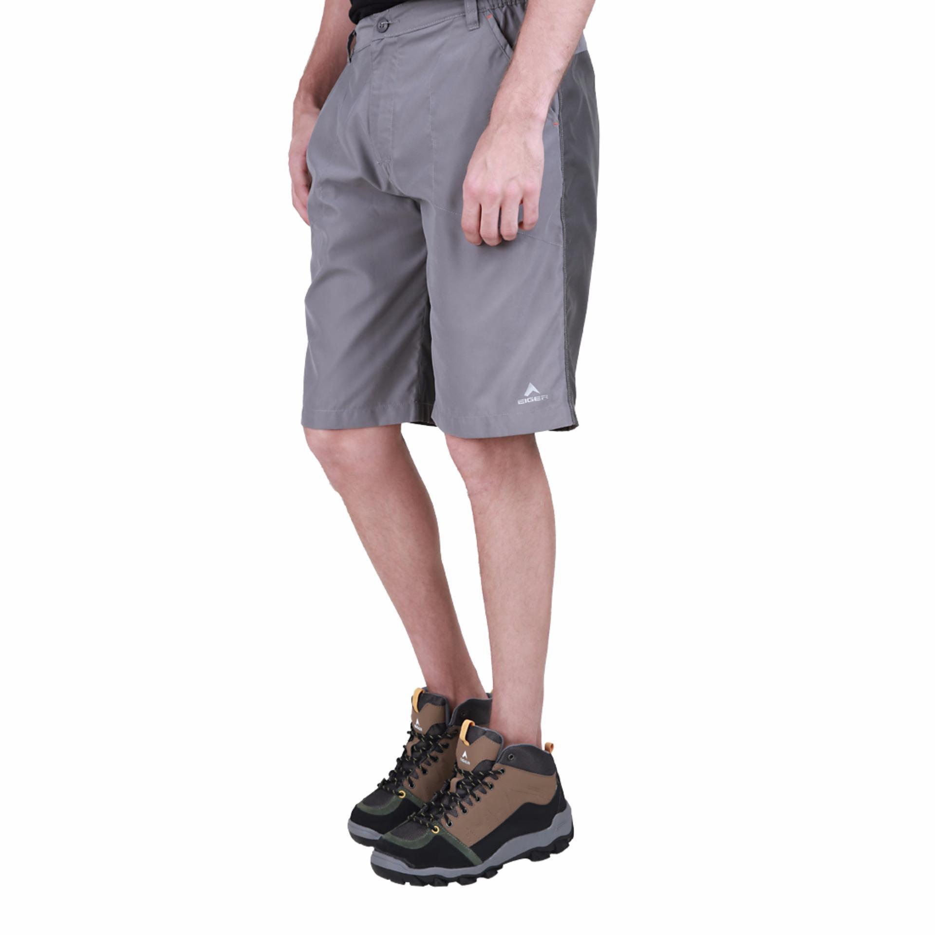 Eiger Celana Xdirt Short Mic Fiber Abu Review Daftar Harga Terbaru 1989 Thanatos Ol Pants Grey Pendek Pria 30 Horco Silver