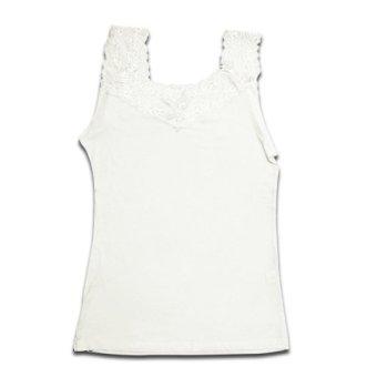 Elena Tank Top Wanita ET 7595 Putih - Pakaian Dalam Wanita Tanktop