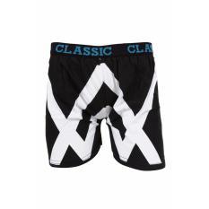 Elfs Shop - Boxer Santai Celana Dalam Pendek Alan Walker  - Hitam