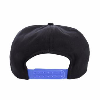 Bandingkan Toko Elfs Shop - Topi Twill Snapback Tali Biru Sailor-Hitam harga  baru - a517c0cb78