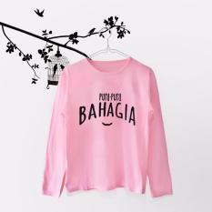 INC Tumblr Tee / T-Shirt / Kaos Wanita Pura Pura Bahagia -