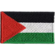 Emblem Badge Bordir Bendera Palestina