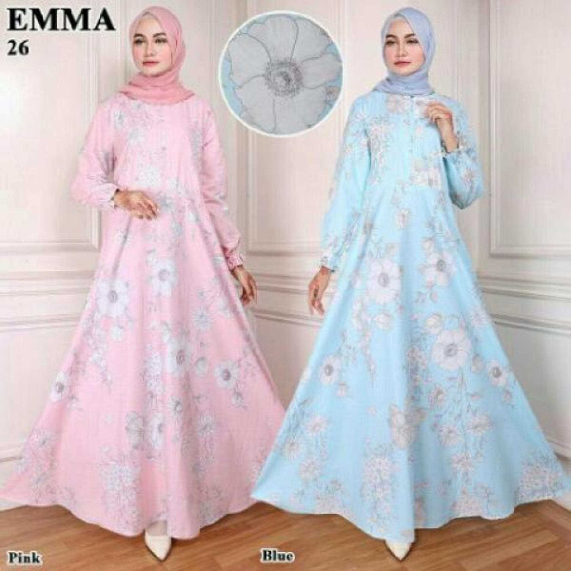 MURAH UC Best Seller Dress Gamis Muslim Amirah Hijab
