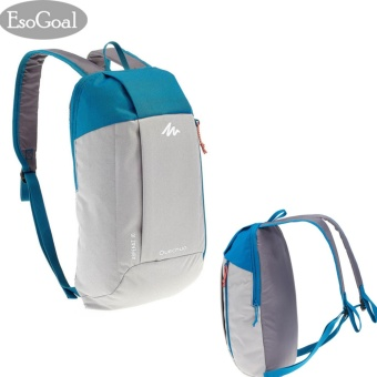 Harga EsoGoal Sports Kids Adults Outdoor Backpack Daypack Mini Small Bookbags 10L -Gray&Blue - intl