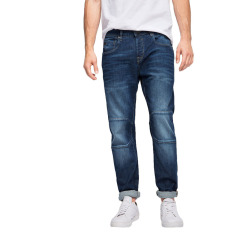 Esprit Stretch Jeans With Dividing Seams - Blue Medium Wash