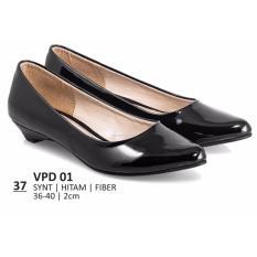 Everflow Sepatu Formal / Sepatu Pantofel / Sepatu Kerja / Sepatu Flats shoes Wanita Everflow VPD 01 Hitam