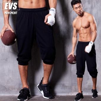 EVS pedicure kebugaran menjalankan pelatihan celana celana celana (Hitam)