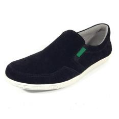 EWN Sepatu Slip On Casual Pria - Hitam