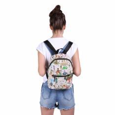 Exsport Coachella Mini Backpack - Cream