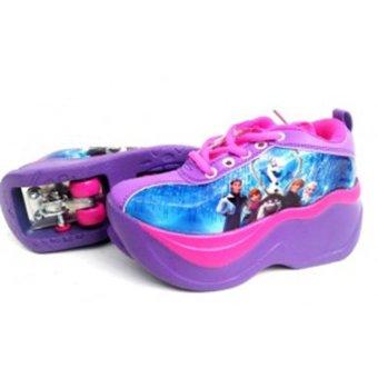 Fancy Kids Sepatu 2 Roda Anak Frozen - List Harga Terkini dan Terlengkap 5dea7f6e2a