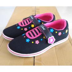 Fanie Shoes - Galletti sepatu sekolah hitam anak perempuan cantik murah