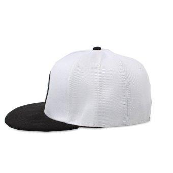 Bandingkan Toko Fashion Pria Wanita Mata Topi Snapback Baseball Hip Hop Adjustable Bboy Sport Cap Putih