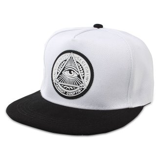 Fashion Pria Wanita Mata Topi Snapback Baseball Hip Hop Adjustable Bboy Sport Cap .
