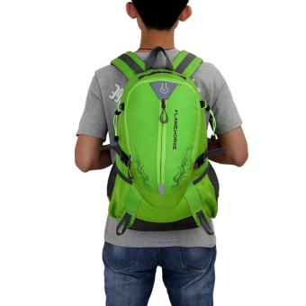 Detail Gambar Produk Fashion olahraga luar ruangan tahan air tas ransel perjalanan (hijau) -