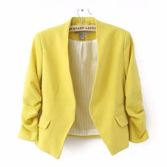 Fashion Slim Candy Color Blazer - intl