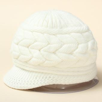 Detail Gambar Fashion untuk wanita Korea rajut merajut topi kupluk Ski saat musim dingin hangat wol topi pet - Internasional dan Variasi Modelnya