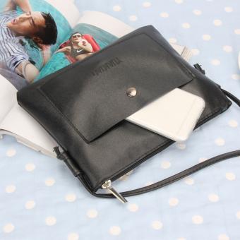 La Vie Vintage Retro Mini Tas Tangan Kulit Bahu Crossbody Bagputih Source · Fashion wanita kulit PU tas selempang kecil tas bahu tas tangan hitam