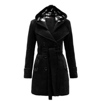 harga FASHION Winter Korean New Autumn Slim Lady thin Bomber Long SleeveWomen Jacket Casual Solid Blazer Zipper short Suit Coat - intl Lazada.co.id