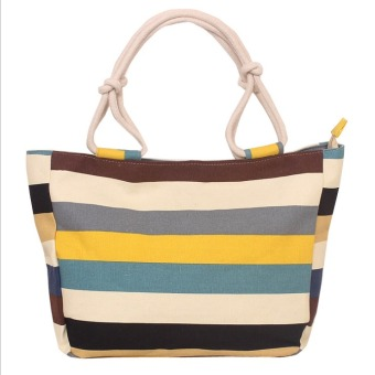 Fashion Women Tote Bags Canvas Hot Style Lady Bags - intl
