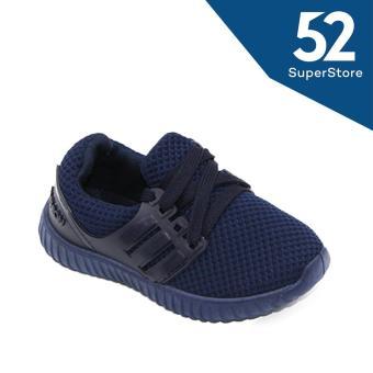 Faster Sepatu Anak Sneaker 1704-600 - Blue Size 26-31 - 2
