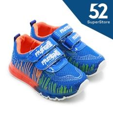 Faster Sepatu Anak Sneakers LED 1704-802 - Blue Size 26-31
