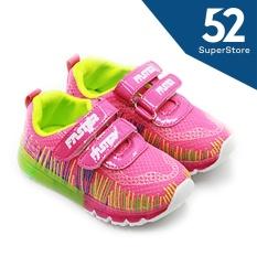 Faster Sepatu Anak Sneakers LED 1704-802 - Fushia Size 26-31