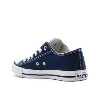 Faster Sepatu Sneakers Kanvas Wanita 1603-03 - Navy - 3